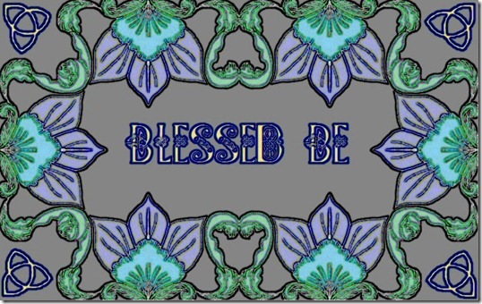 BLESSED BE.4-3