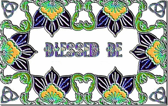 BLESSED BE.4-4