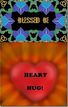 BLESSED BE-HEART HUG
